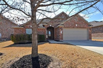 Cedar Park Single Family Home For Sale: 212 Tulip Trail Bnd