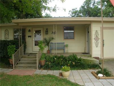Burnet Single Family Home Pending - Taking Backups: 405 E Lamon St