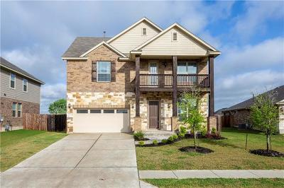 Pflugerville Single Family Home For Sale: 17321 Silent Harbor Loop