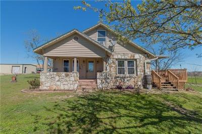 Williamson County Single Family Home Pending - Taking Backups: 700 County Road 375