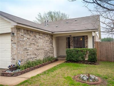 Pflugerville Single Family Home For Sale: 21101 Byerly Turk Dr