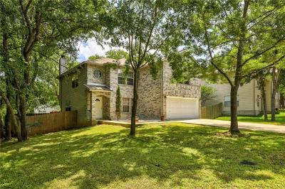 Round Rock Single Family Home For Sale: 1622 Alazan Cv
