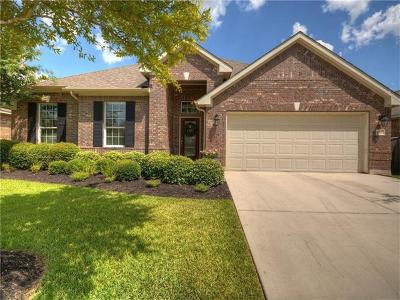 Round Rock Single Family Home Active Contingent: 4525 Monterosa Ln