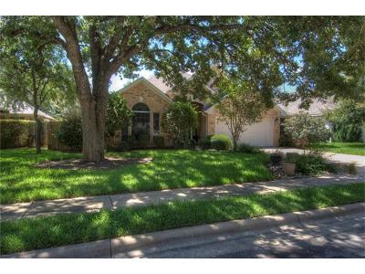 Round Rock Single Family Home For Sale: 2003 Inverness Dr