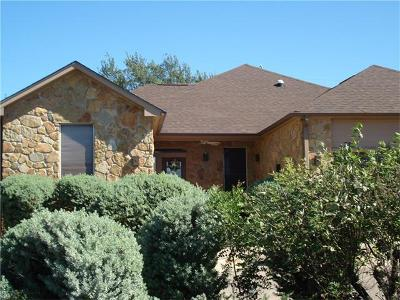 Spicewood Single Family Home For Sale: 328 Kendall Dr