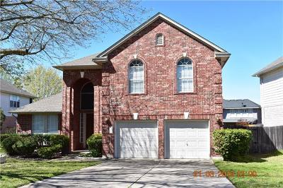 Pflugerville Single Family Home For Sale: 2207 Four Hills Ct