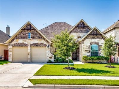 Leander Single Family Home For Sale: 3313 Catalina Ranch Rd