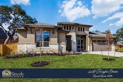 Round Rock Single Family Home For Sale: 3800 Kyler Glen