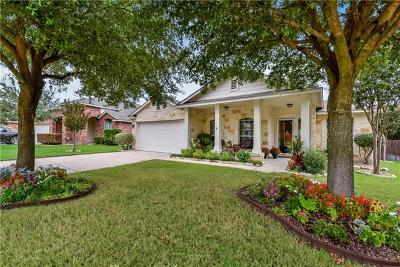 Round Rock Single Family Home For Sale: 2524 Butler Way