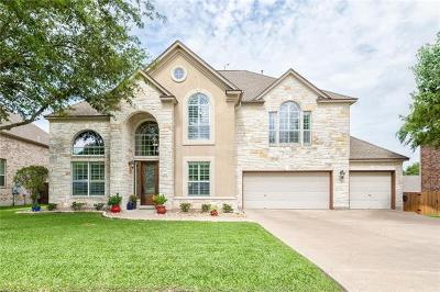 Cedar Park TX Single Family Home For Sale: $525,000