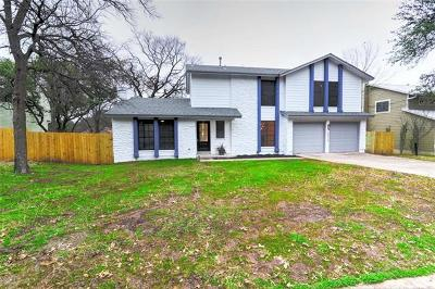 Travis County Single Family Home Pending - Taking Backups: 3906 Tamarack Trl