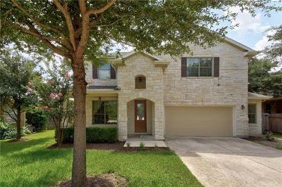 Round Rock Single Family Home For Sale: 2512 Salorn Way