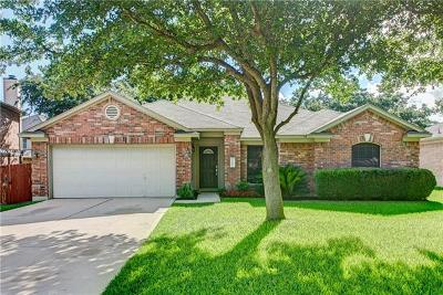 Cedar Park Single Family Home For Sale: 1107 Boerne Dr