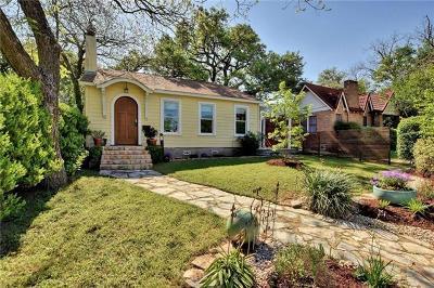 Austin TX Single Family Home Pending - Taking Backups: $699,900