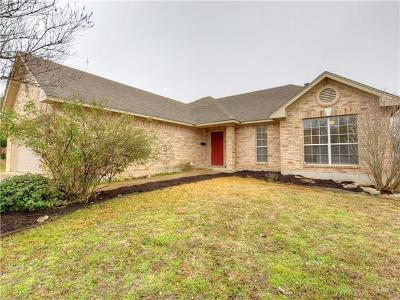 Georgetown Single Family Home Pending - Taking Backups: 1506 Barcus Dr