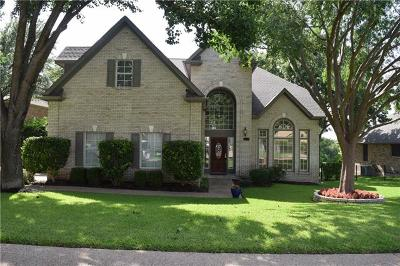 Round Rock Single Family Home For Sale: 1012 Long Cv