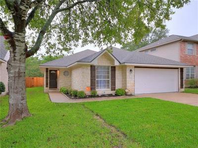 Cedar Park Single Family Home Pending - Taking Backups: 2319 Clover Ridge Dr