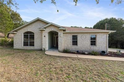 Lago Vista Single Family Home Pending - Taking Backups: 20803 Oak Hill Ln
