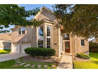 Hutto Single Family Home For Sale: 1628 Augusta Bend Dr