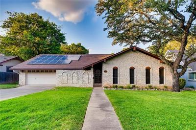 Austin Single Family Home For Sale: 3906 Edgerock Dr