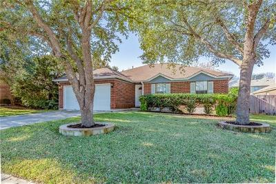 Cedar Park Single Family Home For Sale: 1709 Woodland Dr