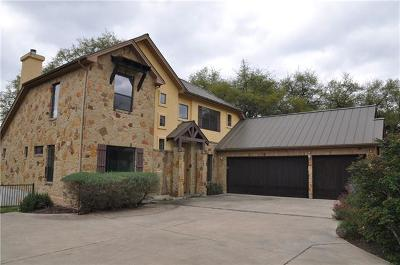 Lakeway Single Family Home For Sale: 1452 Buffalo Gap Rd