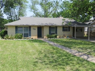 Single Family Home For Sale: 100 Flamingo Cir