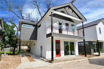 Austin Single Family Home For Sale: 1615 S 2nd St #3