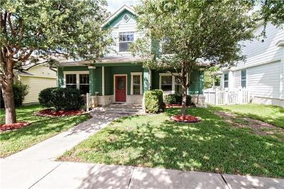 Round Rock Single Family Home For Sale: 1037 Monadale Trl