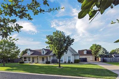 Hutto Single Family Home For Sale: 107 San Jacinto