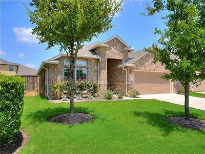 Round Rock Single Family Home For Sale: 3606 Penelope Way