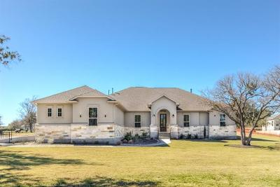 Leander Single Family Home For Sale: 405 Flintlock Dr