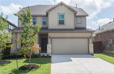 Liberty Hill Single Family Home For Sale: 400 Spoleto Dr