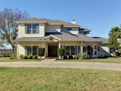 Hutto Single Family Home For Sale: 180 Gabriel Farms Dr