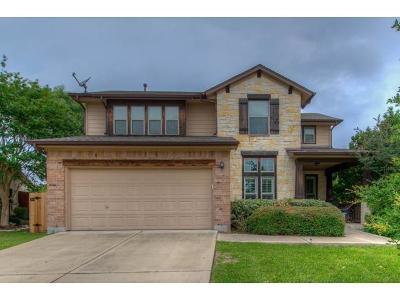 Round Rock Single Family Home For Sale: 4221 Pasada Ln