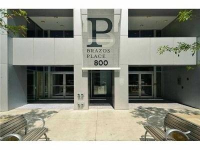 Condo/Townhouse For Sale: 800 Brazos St #911