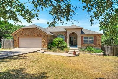 Lago Vista Single Family Home For Sale: 3708 Alamo Cv