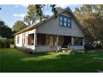 Taylor Single Family Home For Sale: 1012 Speegle St