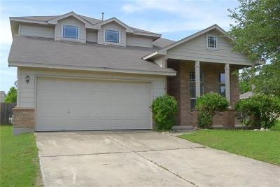 Bastrop Single Family Home Pending - Taking Backups: 748 Bills Cir