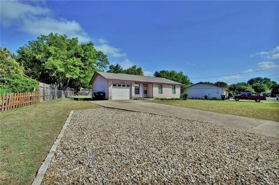 Georgetown Single Family Home Pending - Taking Backups: 1503 Long Branch Dr