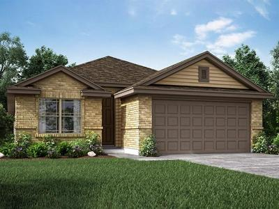 Manor Single Family Home For Sale: 13700 Fallsprings Way