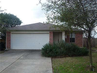 Round Rock Single Family Home Pending - Taking Backups: 3508 Hawk View Cv
