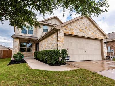 Leander Single Family Home For Sale: 160 Bufflehead