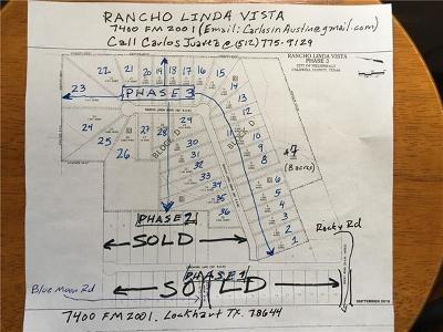 Lockhart Residential Lots & Land For Sale: 7400 Fm 2001