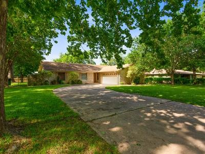 Round Rock Single Family Home For Sale: 507 Virginia Dr