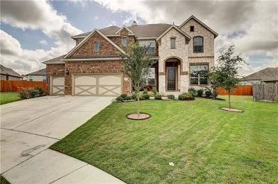 Pflugerville Single Family Home For Sale: 2913 Heidelberg Cv
