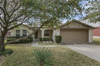 Round Rock Single Family Home For Sale: 1419 Quicksilver Cir