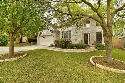 Steiner Ranch Single Family Home For Sale: 3408 Oxsheer Dr