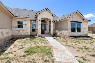 Liberty Hill Single Family Home For Sale: 308 Joya Dr