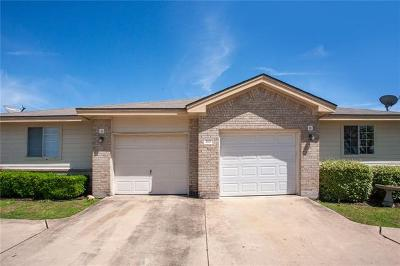Round Rock Multi Family Home Pending - Taking Backups: 2815 Southampton Way